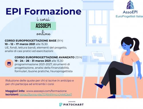 Corsi di formazione sull'europrogettazione di AssoEPI